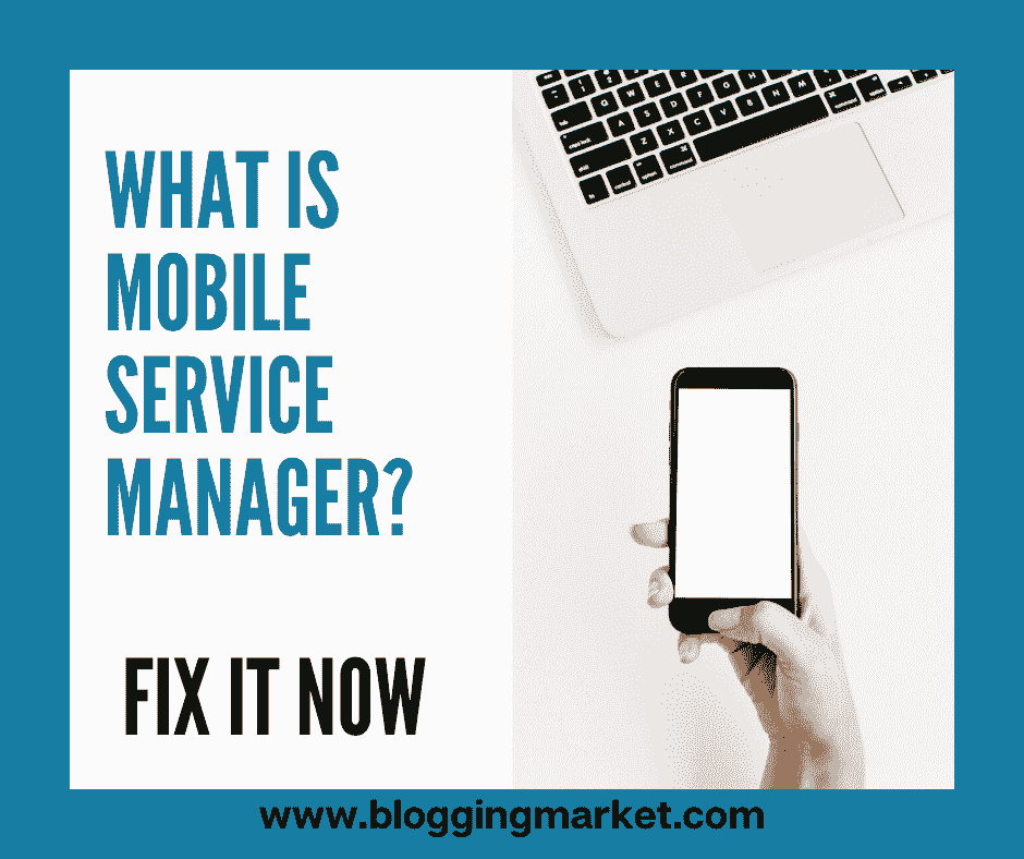 mobile services manager