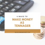 make money as a Teenager in 2020